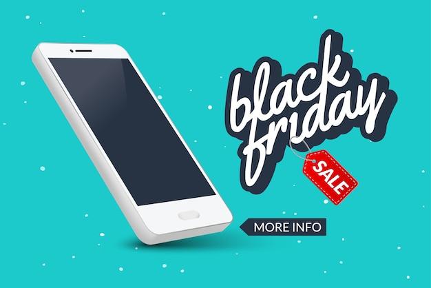 Venta de banner de viernes negro. diseño de flyer de liquidación de mercado. oferta de descuento para teléfonos inteligentes móviles.