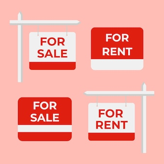 Venta de carteles inmobiliarios