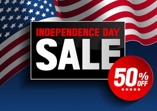 Venta del día de la independencia