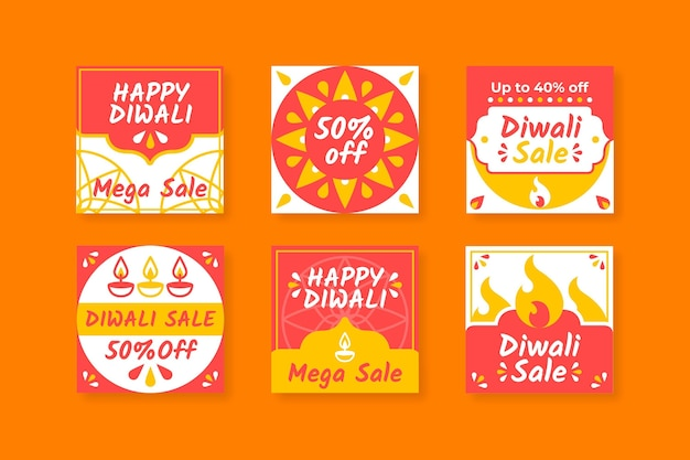 Venta de diwali publicaciones de instagram