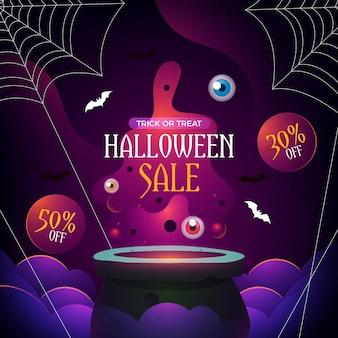 Venta de halloween realista