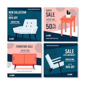 Venta de muebles colección post ig