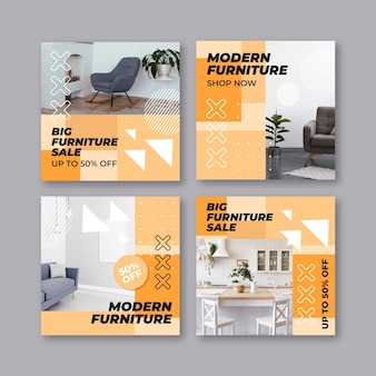 Venta de muebles colección de publicaciones de ig con imagen