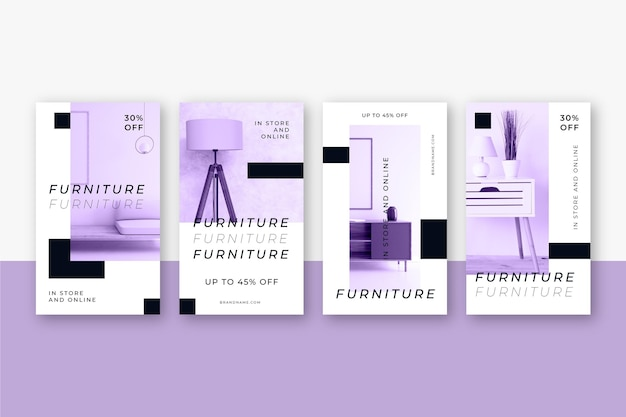Venta de muebles historias de ig con foto