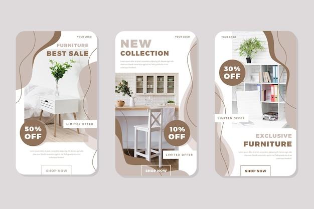 Venta de muebles historias de ig con imagen