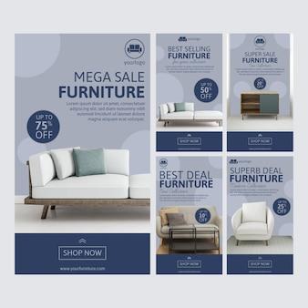 Venta de muebles historias de instagram con foto.