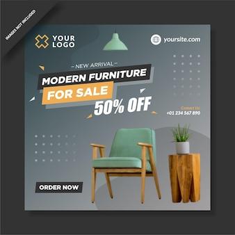 Venta de muebles modernos instagram feed