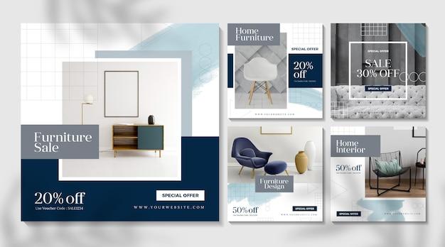 Venta de muebles publicación de instagram