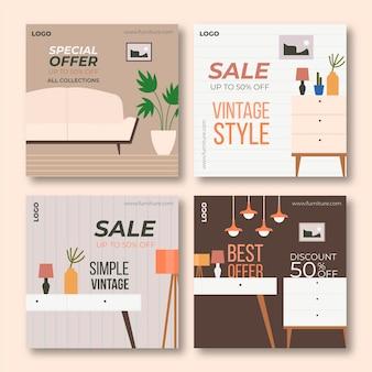 Venta de muebles publicaciones de instagram