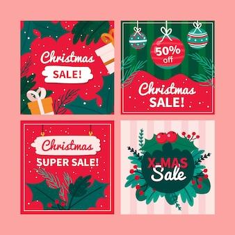 Venta de navidad instagram post collection