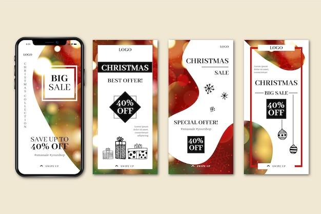 Venta de navidad instagram story collection