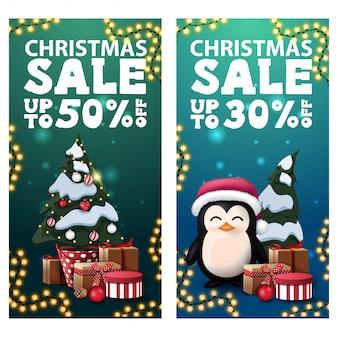 Venta navideña, hasta 50% de descuento