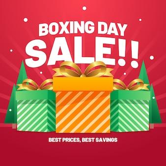Venta plana del día de boxeo mejor ahorro