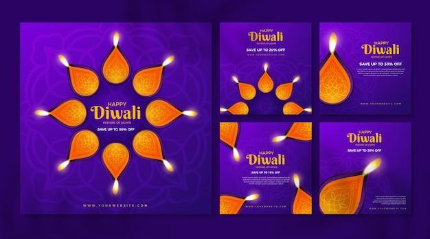 Venta de publicaciones de instagram diwali vacaciones
