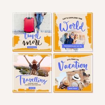 Venta de viajes instagram post collection