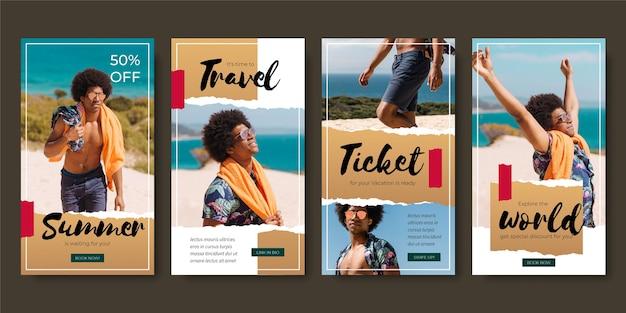 Venta de viajes instagram stories