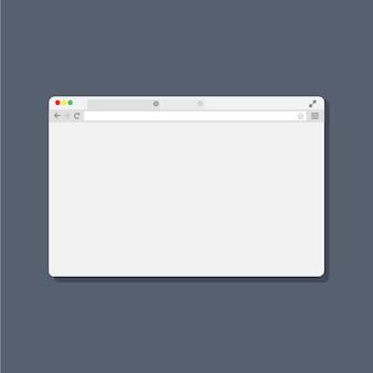 Ventana del navegador web
