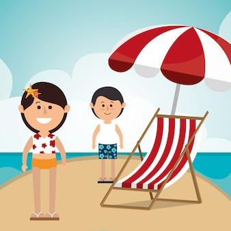 Verano, vacaciones y viajes.
