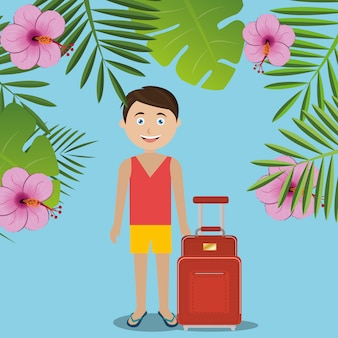 Verano, viajes y vacaciones.