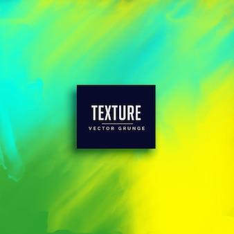 Verde brillante textura de fondo de acuarela abstracta