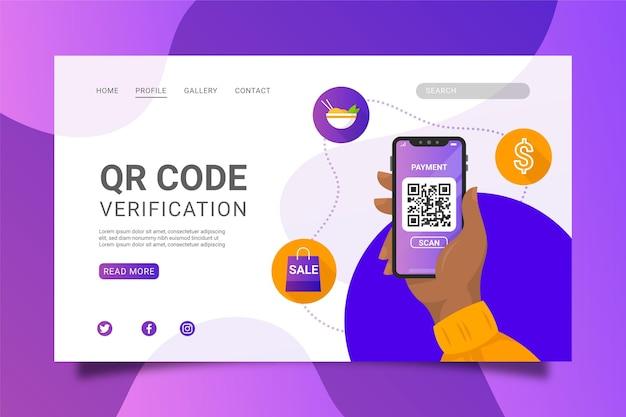 Verificación de código qr