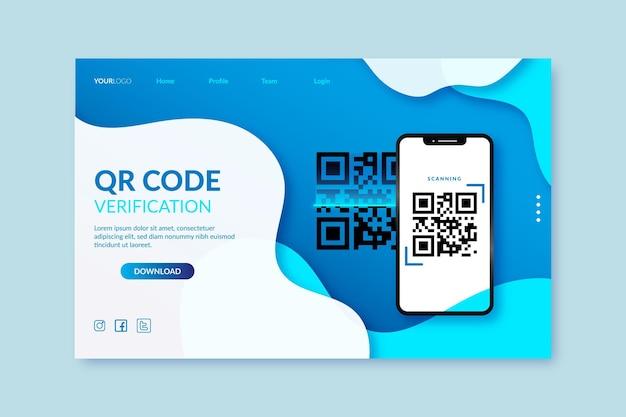 Verificación del código qr