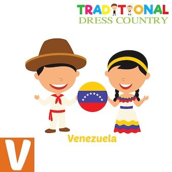 Vestido tradicional country
