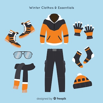 Vestimenta y accesorios de invierno