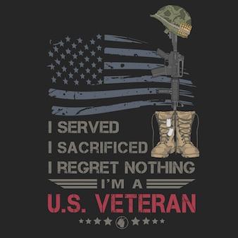 Veterano sacrificado