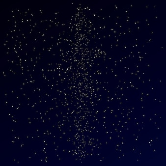 Vía láctea en el cielo nocturno de estrellas. fondo oscuro de estrellas