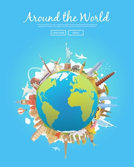 Viaja al mundo.