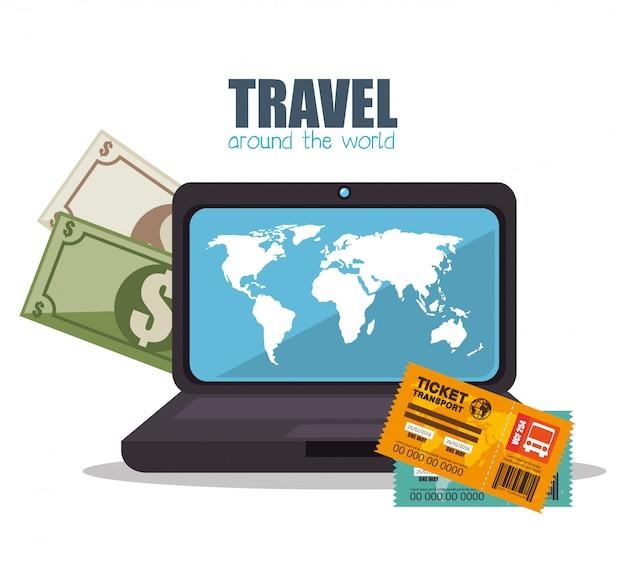 Viajar alrededor del mundo