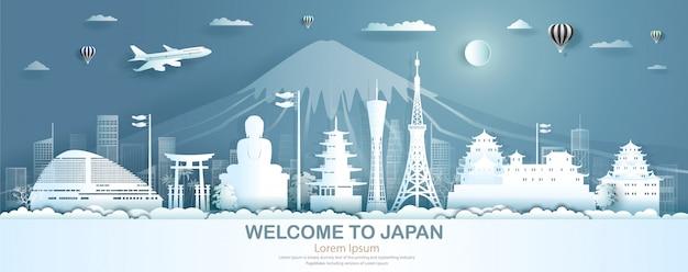 Viaje a la parte superior de los monumentos famosos de japón de la arquitectura antigua del castillo mundial.