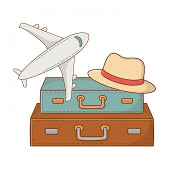 Viaje turístico viaje de verano