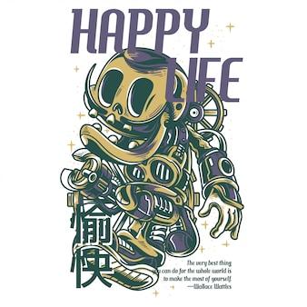 Vida feliz