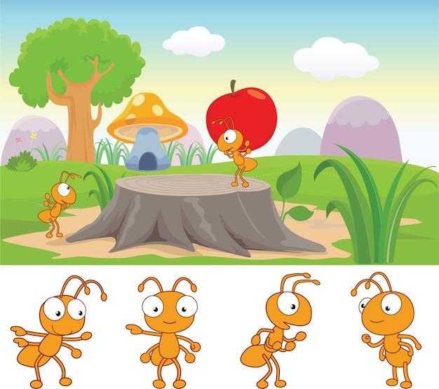 Vida de hormiga