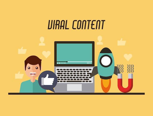 Video de contenido viral