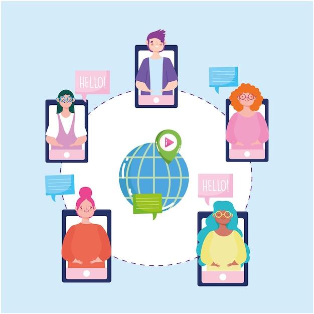 Videoconferencia en línea