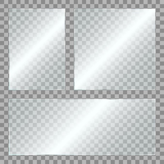 Vidrio con brillo