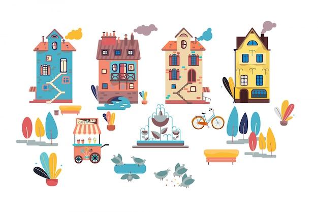 Viejas casas europeas