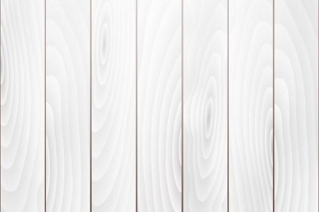 Viejo vector de fondo de textura de madera blanca