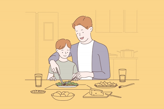 Vinculación familiar, concepto de crianza feliz