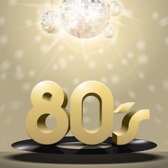 Vinilo de los 80