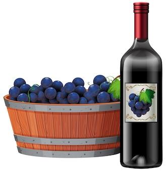 botella de vino tinto fotos y vectores gratis. Black Bedroom Furniture Sets. Home Design Ideas