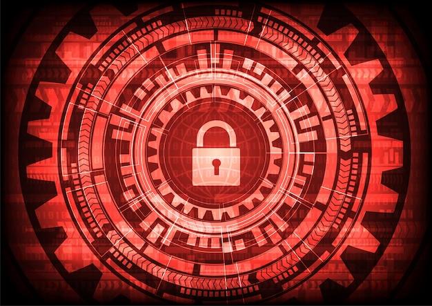 Virus abstracto malware ransomware