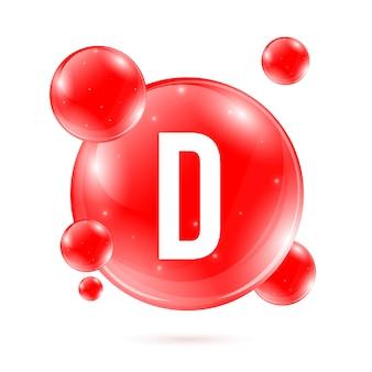 Vitamina d, cápsula de píldora de gota mineral de piridoxina.