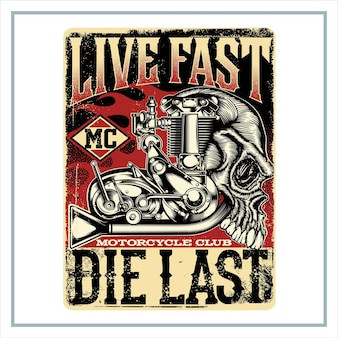 Vive rápido muerte último