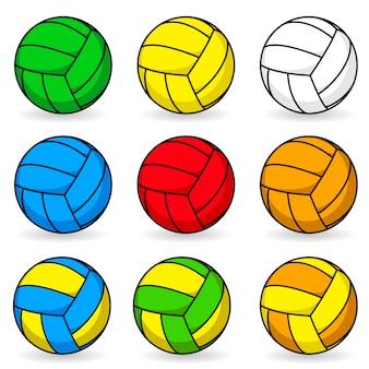 Voleibol de dibujos animados