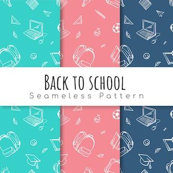 Volver al conjunto de patrones de la escuela.