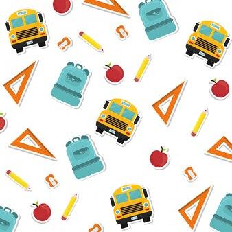 Volver al diseño de la escuela.